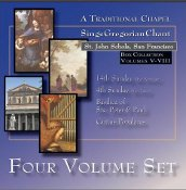 St. John Schola - 4-Disc Set II (Volumes 5-8)