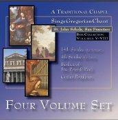 St. John Schola - 4-Disc Set II (Volumes 5-8)