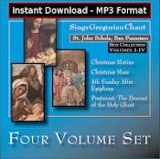 St. John Schola Volume 1-4 Set MP3 DOWNLOAD EDITION