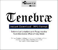 Tenebrae: Divine Office of Holy Week DOWNLOAD EDITION