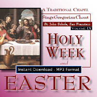 Holy Week and Easter (Volume 9) MP3 DOWNLOAD EDITION